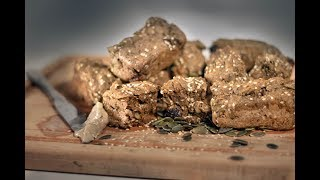 Vegan High Protein Bread - Quick & Easy Recipe for Fitness and Health