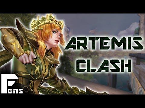 Smite: Clash Artemis - Two Random Subs Appeared