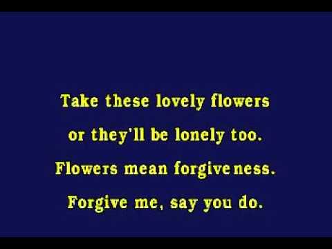 JV0019 09   Sinatra, Frank   Flowers Mean Forgiveness [karaoke]