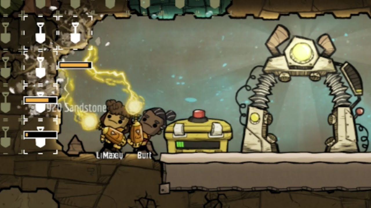 Oxygen not included but I forced everyone to work faster
