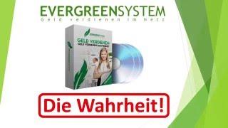 Evergreensystem Said Shiripour - Die Wahrheit! Erfahrungen und Fakten