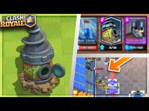 """OMG! Gameplay of NEW """"GOBLIN DRILL"""" Clash Royale NEW CARD GAMEPLAY LEAKED! thumbnail"""