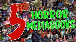 TOP 5 || HORROR MEDIABOOKS || HORROKTOBER 2018
