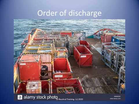 Deck Cargo Stowage Plan