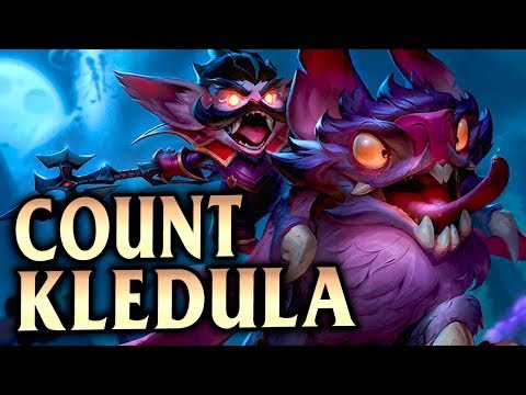 New Count Kledula Skin! How To Conquer with Kled Top!  League of Legends S8