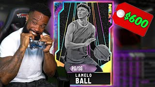 BROKE My Controller Getting OPAL LAMELO BALL! NBA 2K20 Pack Opening & Gameplay