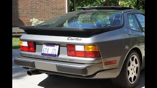 1989 Porsche 944 Turbo - test drive