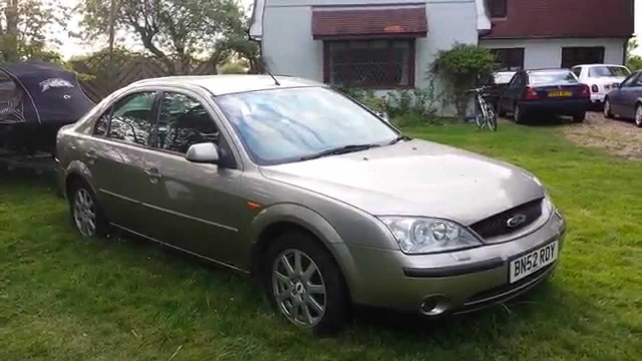 2002 ford mondeo zetec tdci diesel video review youtube ford mondeo 2002 sigorta semasi ford mondeo electrical wiring diagram
