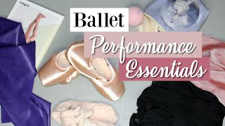 Ballet Performance Essentials! What to Pack + Checklist | Kathryn Morgan