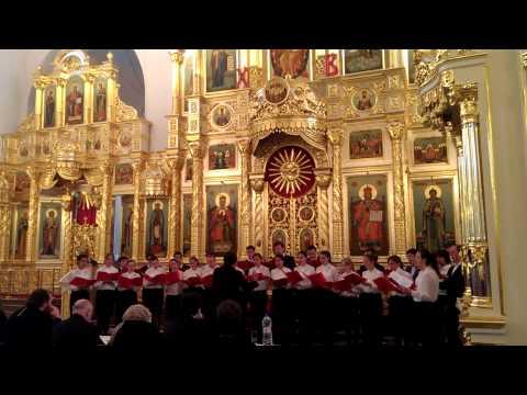 Конкурс хоров в Георгиевском Соборе г. Одинцово 23