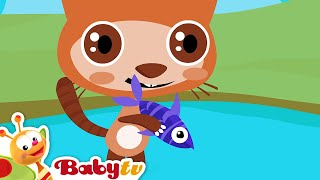 Counting Song - 1,2,3,4,5 Once I Caught a Fish Alive, BabyTV Bahasa Indonesia