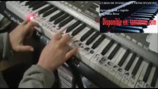Ritmo Facil para balada en piano tutorial