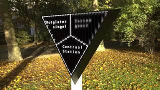 Position responsive sign by Mark van Cromvoirt