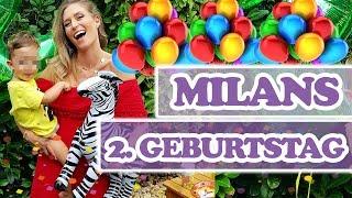 MILANS 2. GEBURTSTAG - wer hatte mehr Spaß, Mama oder Kind 😂 ?