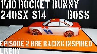 "1/10 Rocket Bunny 240SX (S14)  ""Boss"" episode 2 BRE Racing ..."