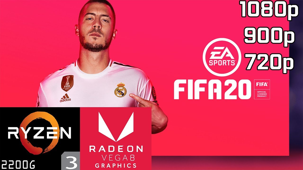 Fifa 20 Ryzen 3 2200g Vega 8 8gb Ram Youtube