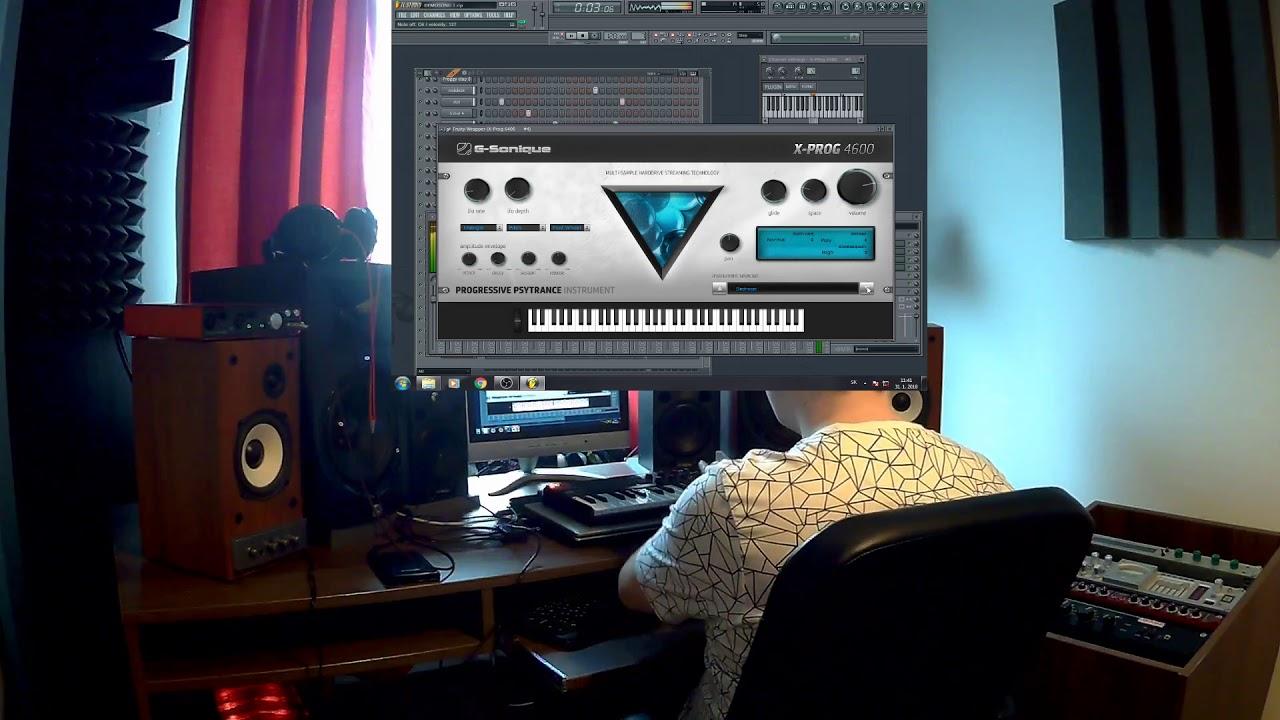 X-Prog 4600 Progressive psytrance  Proggy, instrument, VST
