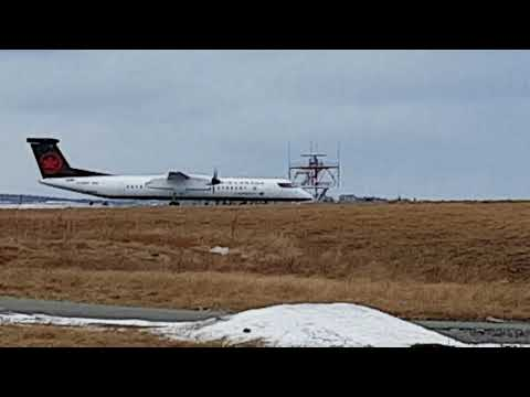 Air Canada Express (New Colors) Bombardier Dash-8-Q400 Takeoff CYYT