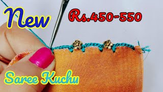saree kuchu #206 // #simple #sareekuchu design tutorial for beginners// siri creations