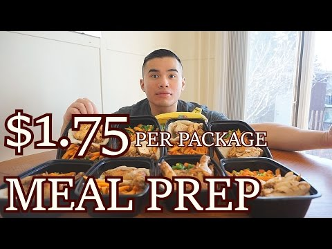 MEAL PREP FOR CHEAP!  | MUKBANG | QT