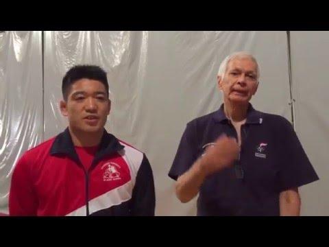 【パラグアイ・レスリング連盟】日体大レスリング部へ感謝のメセージ