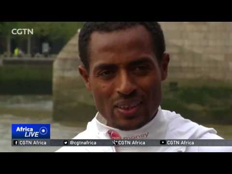 Ethiopia's Kenenisa Bekele aims to break world record at the London Marathon