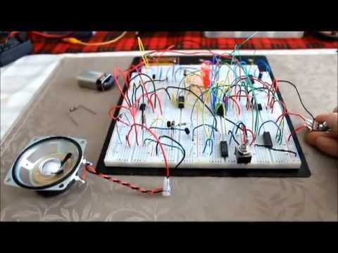 Catch that LED! (led game circuit)