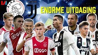 AJAX-JUVENTUS: Geweldige Uitdaging Voor Matthijs De Ligt Om Ronaldo In Te Tomen