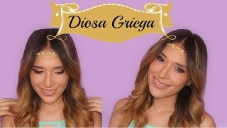 Diosa Griega (Maquillaje y Peinado!) | Halloween 2014