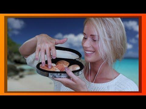 ASMR Oceaan & Schelpen Ontspanning (diep oor gefluister)