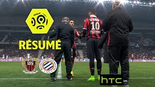 OGC Nice - Montpellier Hérault SC (2-1)  - Résumé - (OGCN - MHSC) / 2016-17