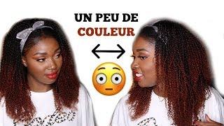 Coloration sur cheveux crépus/bouclés/frisés Feat. HGH