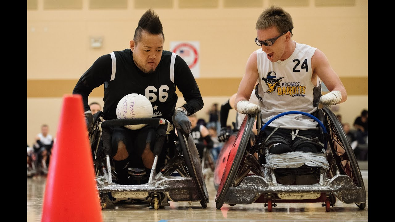 murderball the tampa generals take on the best at wheelchair rugby