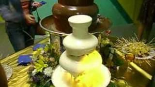 Шоколадный фонтан свадьба Омск 38-40-08(http://tumencevshow.ru/ Шоколадный фонтан Омск. Заказать на свадьбу, юбилей, корпоративный вечер, детский праздник...., 2010-04-07T06:24:44.000Z)