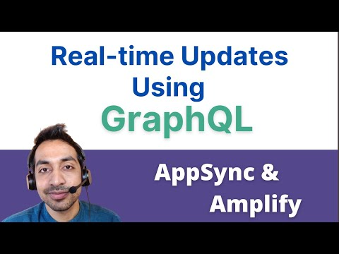 How to send realtime updates with GraphQL subscriptions  | AppSync | Angular | AWS thumbnail