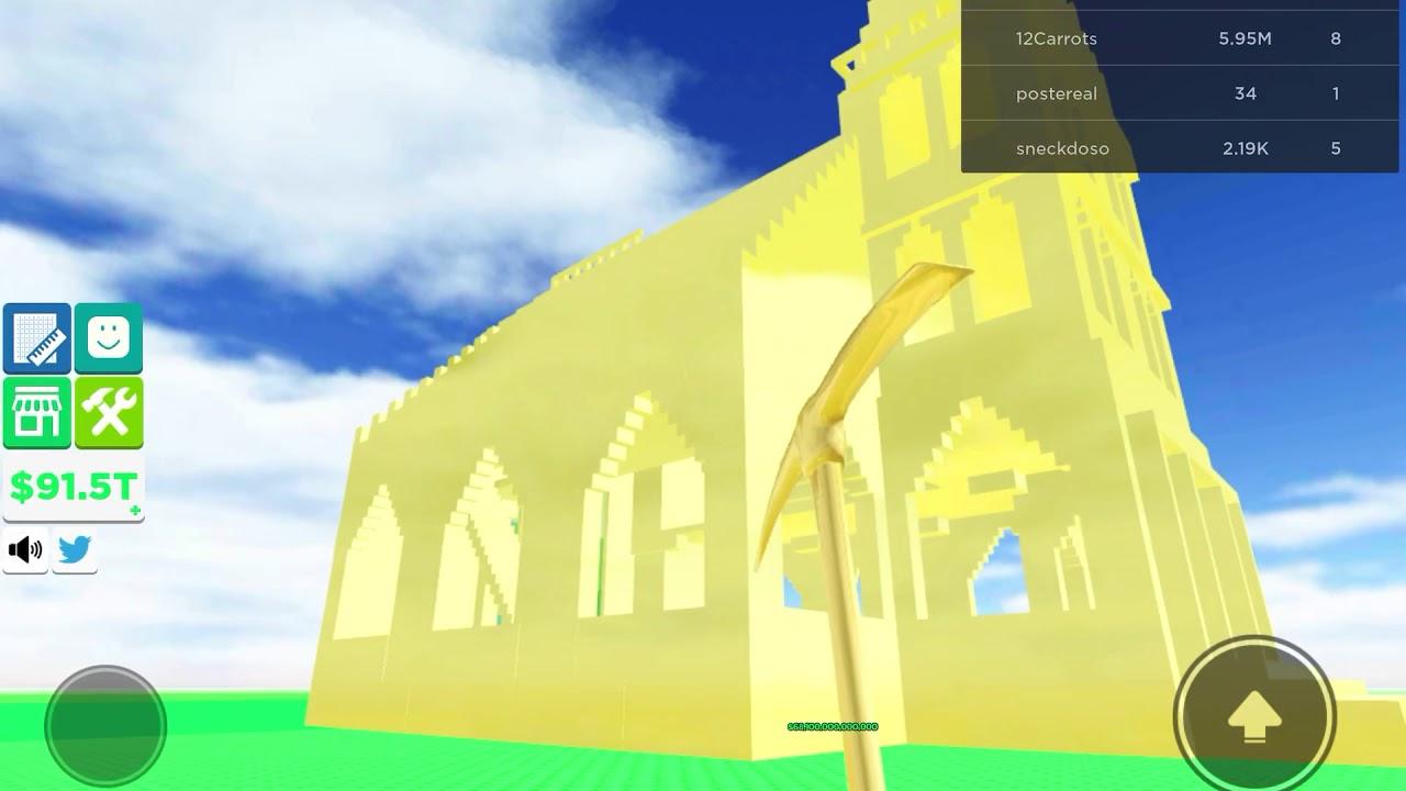 Gold Church In Building Simulator Roblox Building Simulator