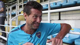 Boca entrenó en la Bombonera - La final de la Libertadores