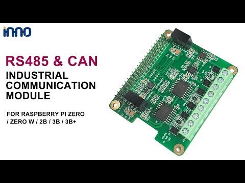Raspberry Pi RS485 CAN Hat Industrial Communication Module