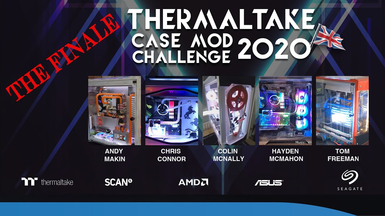 Thermaltake PC case mod challenge 2020 - The final builds are in!! Pick your WINNER!