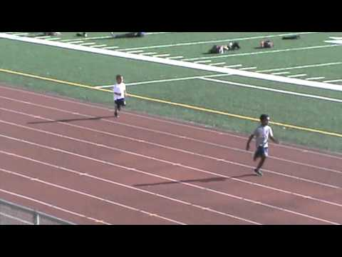 Cato June Jr. 100m Debut