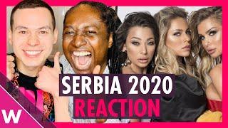 Serbia Eurovision 2020 Reaction | Hurricane