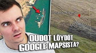 Oudot Löydöt Google Mapsista?