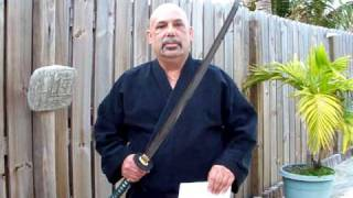 "TESTING THE ULTRA-SHARP ""JADE WARRIOR"" Japanese Katana Sword by SharpSwords.com"