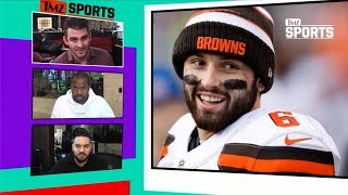 Baker Mayfield Mocks Drunken Arrest During Fortnite Stream | TMZ Sports