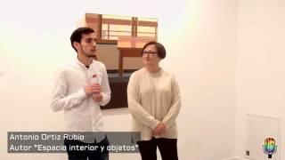 Exposición Antonio Ortiz, mención especial XVII DMencia
