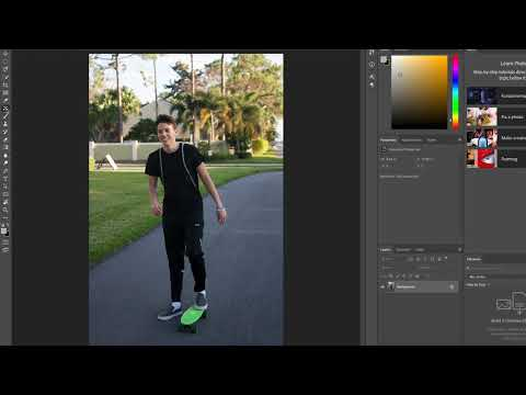 How to remove objects from background in photoshop tutorial