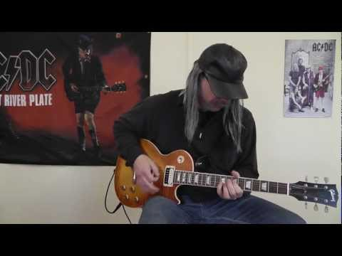 Krokus - Bailout Blues - with Solo - cover by RhythmGuitarX