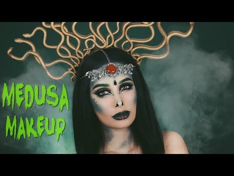 MEDUSA HALLOWEEN MAKEUP TUTORIAL