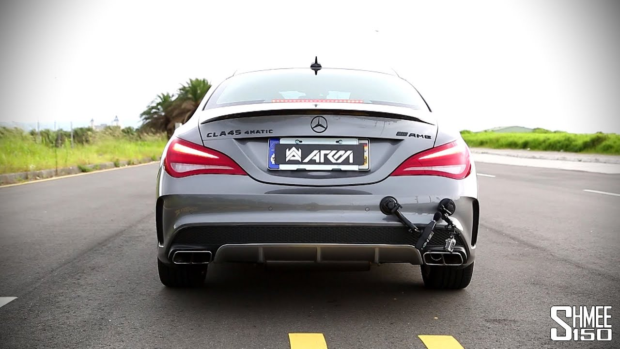 Mercedes cla 45 amg and a45 armytrix performance exhaust for Mercedes benz c45 amg