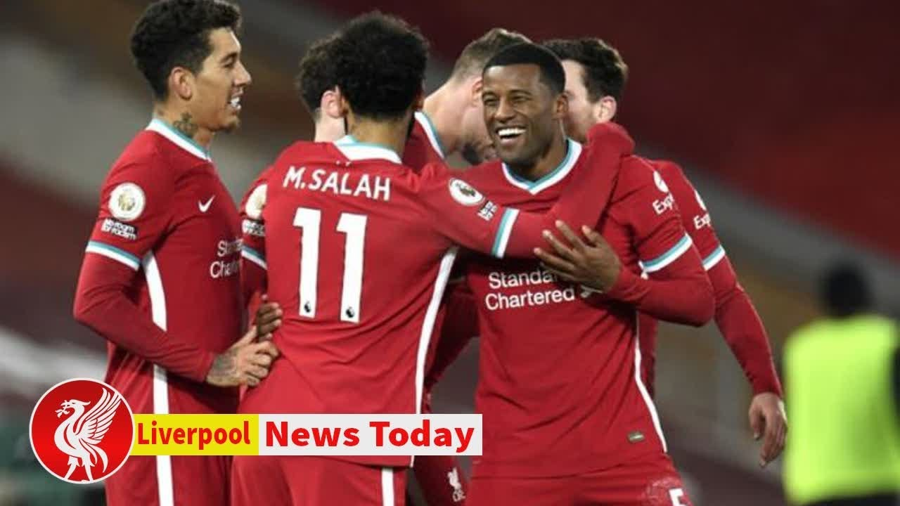 Download Gini Wijnaldum refuses to be drawn on Liverpool contract amid Barcelona transfer interest - new...